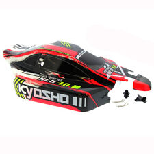 Kyosho Inferno NEO 3.0 RS 1/8: Red & Black Body Shell, Applied Decals & Post