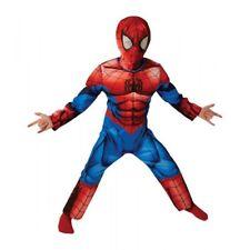 COSTUME ULTIMATE SPIDERMAN DELUXE Abito di Carnevale BAMBINO 7-8 anni RUBIE'S