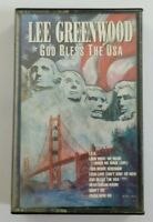Lee Greenwood God Bless the USA Cassette Tape 1990 MCA Special Products