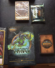 Black Temple Raid Deck (2008) World of Warcraft Trading Card Game Sealed Packs