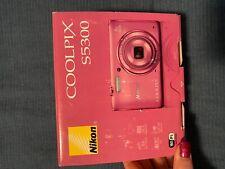 Nikon COOLPIX S5300 Digital Camera - Pink