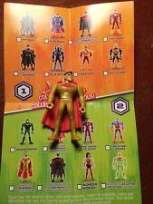 CARTOON NET DC JLA MIGHTY MINIS SOLAR SHIELD SUPERMAN S2 LOOSE UNUSED