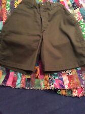 New Boy Scout Bsa Classic Green Uniform Shorts Boys Size 6, Waist 25 Olive Green