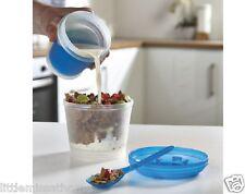 FREEZE COLAZIONE Contenitore Frutta Yogurt Latte Crema liquidi Cereali Porta Pranzo Cool