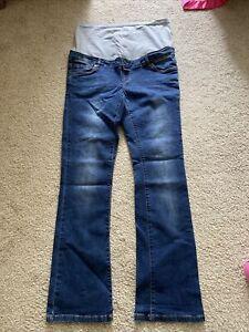 """Mamalicious Maternity Jeans 14L 32"""" Leg"""