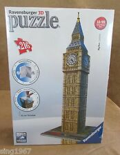 Big Ben 3D Puzzle Ravensburger 216 pc Sealed 3 dimensional London building set