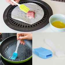 Random Color 2016 New Silicone Basting Brush Cleaner Kitchen Tools Accessories