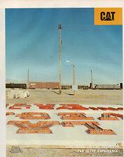 Publicité 1998  CAT CATERPILLAR chaussure vetement  ....