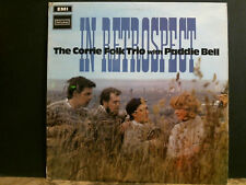 CORRIE FOLK TRIO WITH PADDIE BELL   In Retrospect  LP   Lovely copy !!