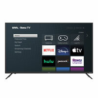"Onn 32"" Class Roku UHD Smart Flat Screen TV (100012589) - New in Box!"