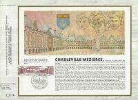 Foglio CEF 1er Giorno Francia Charleville-Mezziere 1983