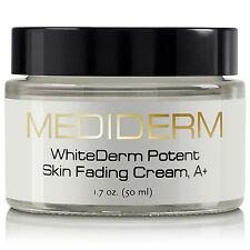 MediDerm WhiteDerm Potent Skin Fading Cream, A+ for Fairer & Brighter Skin