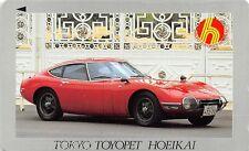 Telecard Japan : Toyota 2000GT Red - Nr 110-016
