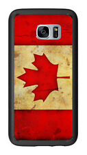 Canada Canadian Flag Grunge For Samsung Galaxy S7 G930 Case Cover by Atomic Mark