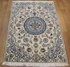 Fine Handmade Persian Nain Silk & Wool Rug 140 x 86 cm