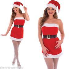 Disfraces sin marca color principal rojo, Navidad