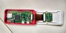Raspberry Pi Zero W + Cameramodul + org.  Gehäuse + 8 GB MicroSD