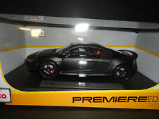 Maisto Audi R8 GT Matt Black 1/18