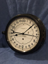 "*Fully Restored* 1966 Us Goverment Chelsea Ships Clock 8 1/2"" 24 Hr Dial"