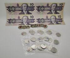 Canada MEGA Coin Lot $10 Dollar Uncut Colorized Quarters Orca Poppy Silver