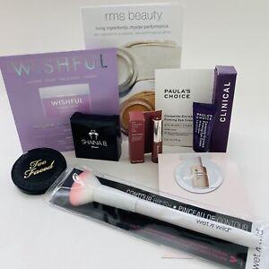 Makeup Lot HUDA Rare Beauty Too Faced Sephora Ipsy Glossier Paula's Choice💄🌟