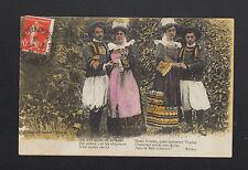 ILLE-et-VILAINE (35) Couple FEMME & HOMME Costumés , Tirade de BOTREL en 1919