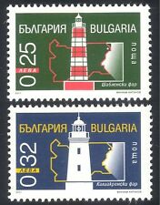 Bulgaria 2001 Lighthouses/Maritime/Safety/Transport/Architecture 2v set (n28837)