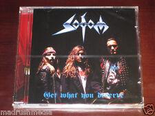 Sodom: Get What You Deserve CD 2004 Steamhammer Germany SPV 084-76762 NEW