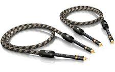 5,00m Viablue NF-S1 Silver Quattro Mono Rca Rca Rca Cable 5,0m 5m (1Paar)