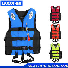 Adult Kids Lifesaving Vest Swimming Fishing Ski Buoyancy Aid Sailing Life Jacket