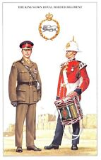 Postcard The British Army Series No.28 The King's Own Royal Border Regiment