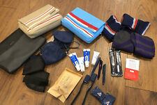 Tumi Jantaminiau Delta KLM First Class Travel Bags Accessories Pouches New