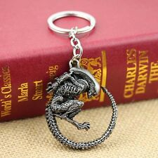 AVP Keychan Men's Punk Aliens Predator Pendant Key Chain Ring Movie Jewelry Gift