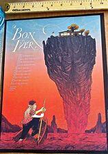 Bon Iver Mini-Concert Poster Reprint for 2014 North American Tour 14x10