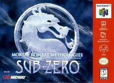 MORTAL KOMBAT MYTHOLOGIES: SUB ZERO *RARE* NINTENDO 64 GAME *NEW* AUS EXPRESS