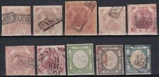 1858-61 ANTICHI STATI NAPOLI LOTTO 10 VALORI