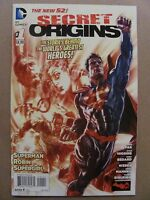 Secret Origins #1 NEW 52 DC Comics 2014 Series 9.6 Near Mint+