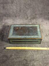 Antique Tobacco Humidor; Pipe Cigar