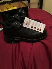 Mens or Women  black V Sport work boots by Vtech footwear size 6