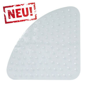 Transparente Eck Duscheinlage Duschmatte Sicherheitseinlage für Eckduschen 54x54