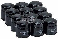 12 Pack Oil Filter, Briggs & Stratton Kohler Badboy Husqvarna John Deere Mower +