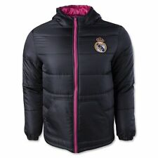 Real Madrid FC Mens Light Down Jacket-Home-Small [Misc.]