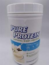 Pure Protein Powder, Natural Whey French Vanilla 1.6 lbs