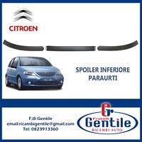 Citroen C3 2002 - 2005 kit Spoiler sotto paraurti anteriore 3 pezzi completo