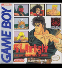 Fist of the north star Hokuto Game boy version USA reconditioned artbox only