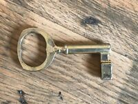 Vintage Large Steel Key Sample GADA Number 5 Skeleton Church Castle  Salvage m