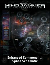 Fate RPG: Mindjammer - PRESALE Enhanced Space Schematic Poster Map supplement Mo