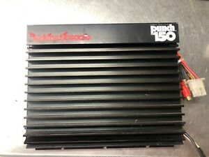 Vintage old school Rockford Fosgate Punch 150 amplifier