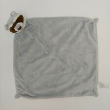 """Angel Dear Baby Blanket Lovey Raccoon Security Infant Gray Brown White 13"""""""