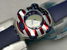 SWATCH UHR ** YQS1000F - COUNTRY USA - IRONY .BEAT ** NEU !